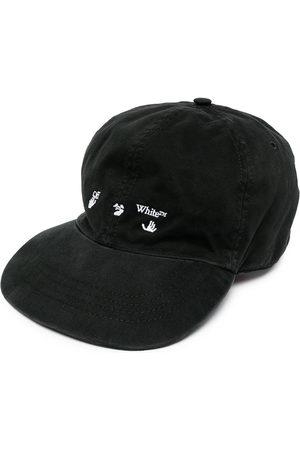 Off-White Men Caps - Embroidered-logo cap
