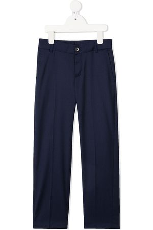 HUGO BOSS Boys Formal Pants - Mid-rise tailored trousers