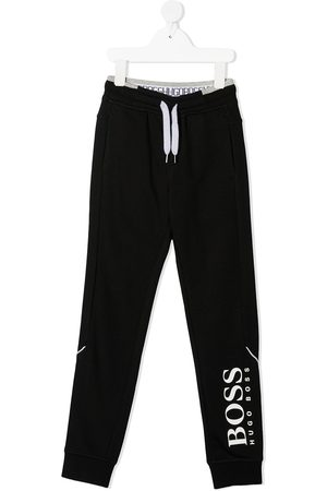 HUGO BOSS Logo-print drawstring track pants