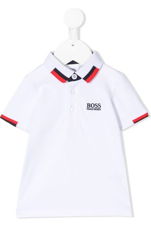 HUGO BOSS Logo-embroidered polo shirt