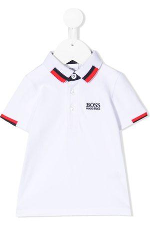 HUGO BOSS Polo Shirts - Logo-embroidered polo shirt