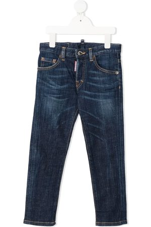 Dsquared2 Girls Slim - Mid-rise slim-fit jeans