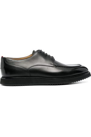 Bally Men Formal Shoes - Lace-up leather derby shoes
