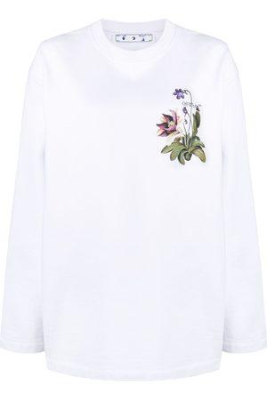 OFF-WHITE Botanical-print sweatshirt