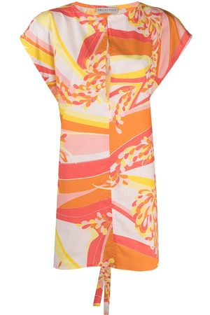 Emilio Pucci Abstract-print beach dress