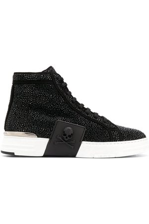 Philipp Plein Women Sneakers - PHANTOM KICK$ High-top sneakers