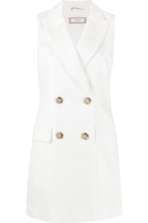 PESERICO SIGN Double-breasted waistcoat