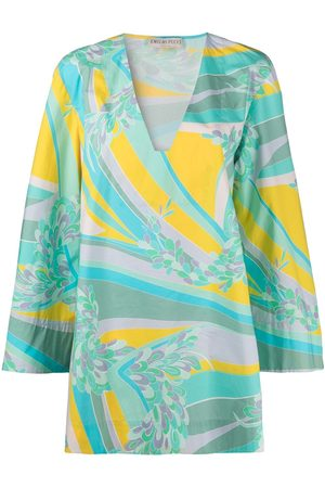 Emilio Pucci Women Printed Dresses - Lily pattern beach dress
