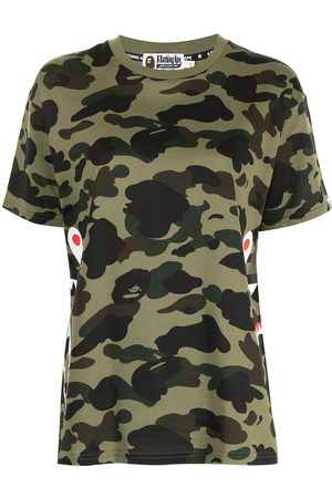A Bathing Ape Camouflage-print short-sleeve T-shirt