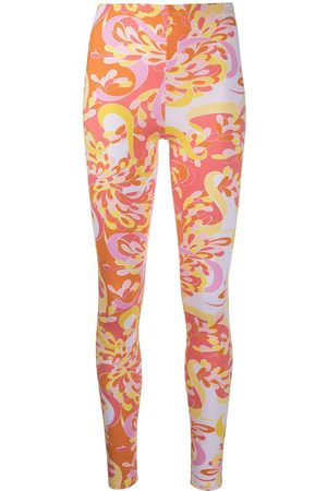 Emilio Pucci Abstract-print leggings