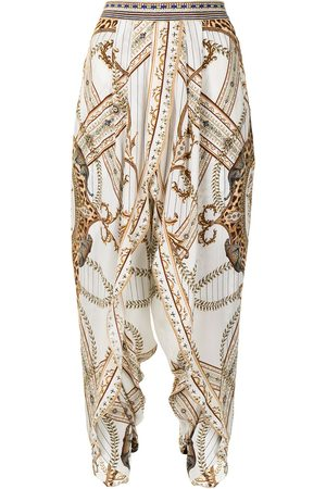 Camilla Women Pants - Mind Your Manor silk trousers