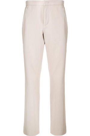 Calvin Klein Straight-leg gabardine trousers