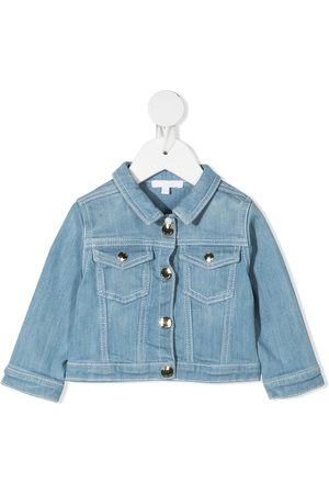 Chloé Bomber Jackets - Faded denim jacket