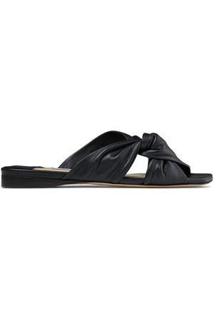 Jimmy Choo Women Sandals - Narisa twist-detail slides