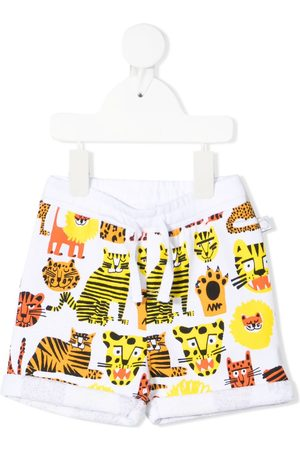 Stella McCartney Shorts - Wild Cats track shorts