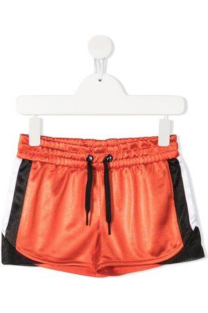 DKNY Logo-patch shorts