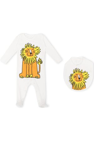 Stella McCartney Lion-print babygrow set