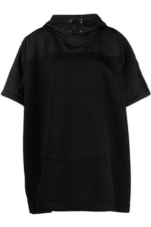 Moncler Women Ponchos & Capes - Drawstring short-sleeve cape