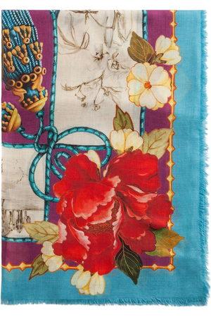 Dolce & Gabbana Silk Road-print modal-cashmere blend scarf