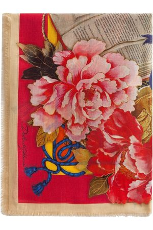 Dolce & Gabbana Silk Road-print scarf
