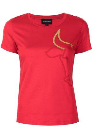 Emporio Armani Graphic-print short-sleeve T-shirt