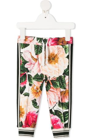 Dolce & Gabbana Floral-print leggings