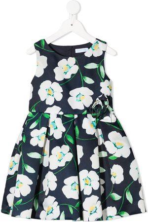 Abel & Lula Girls Printed Dresses - All-over floral print dress