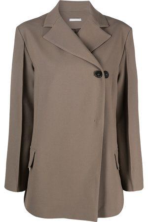 12 STOREEZ Asymmetric single-breasted blazer
