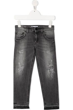 DONDUP KIDS Distressed-finish jeans - Grey