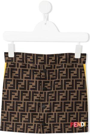 Fendi Zucca-print skirt