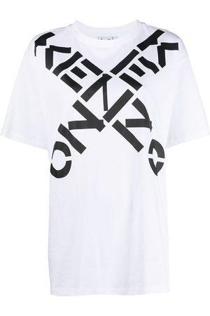Kenzo Women T-shirts - Big X logo-print T-shirt