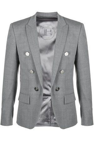 Balmain Double-breasted blazer - Grey