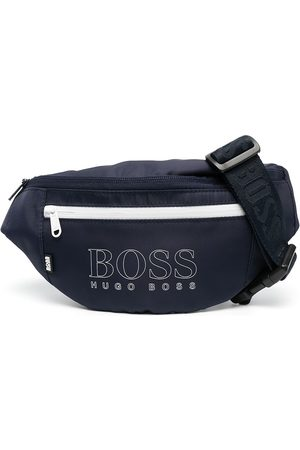 HUGO BOSS Contrast zip logo belt bag