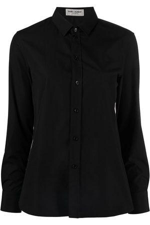 Saint Laurent Buttoned long-sleeve shirt