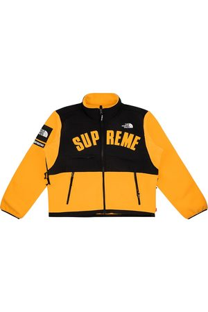 Supreme Men Fleece Jackets - X The North Face Arc logo fleece jacket
