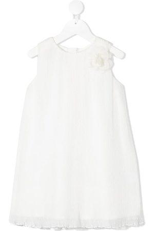 Charabia Flower-appliqué cotton dress