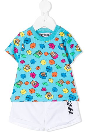 Moschino Teddy Bear babywear set