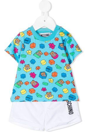 Moschino Teddy Bear babywear set