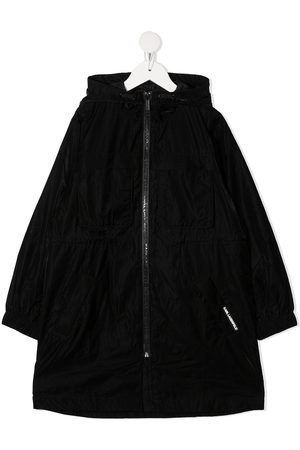 Karl Lagerfeld Hooded windbreaker coat
