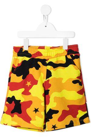 Neil Barrett Boys Bermudas - Camouflage-print bermuda shorts