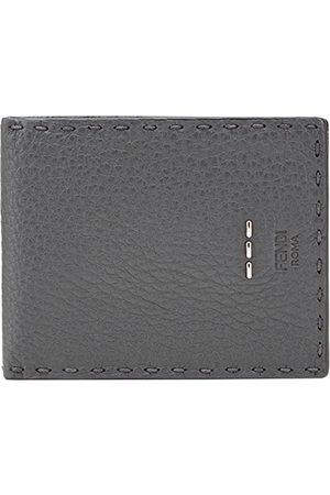 Fendi Stitching wallet - Grey