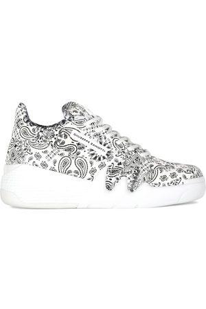 Giuseppe Zanotti Women Sneakers - Paisley print sneakers