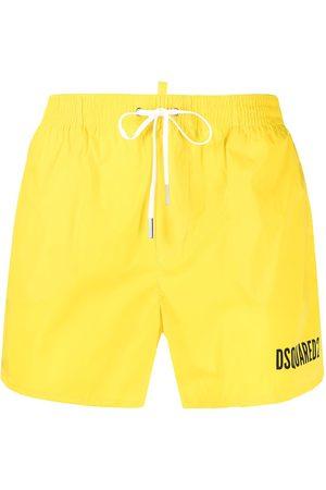 Dsquared2 Icon elasticated-waist swim shorts