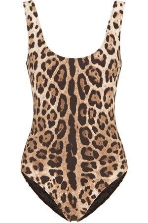 Dolce & Gabbana Leopard-print swimsuit