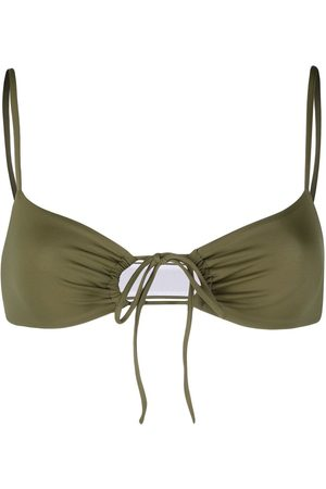 Dsquared2 Women Bikinis - Cut-out tie-fastening bikini top
