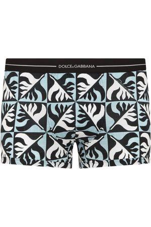 Dolce & Gabbana Geometric-print boxers