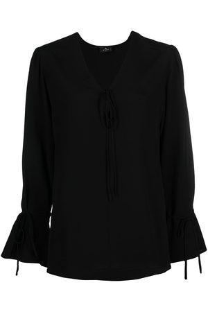 Etro Long-sleeve silk blouse