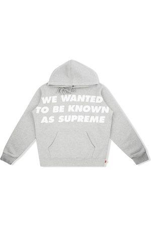Supreme Known As hoodie - Grey