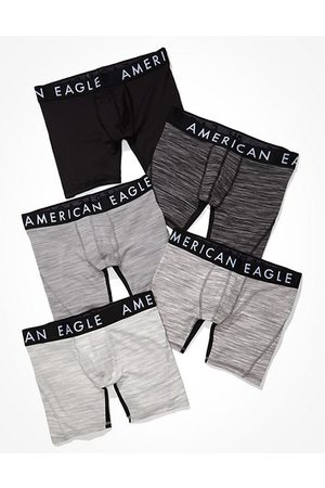 """American Eagle Outfitters O 6"""" Flex Boxer Brief Multipack Men's XS"""