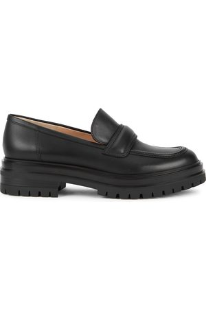 Gianvito Rossi Women Loafers - Argo 40 leather loafers